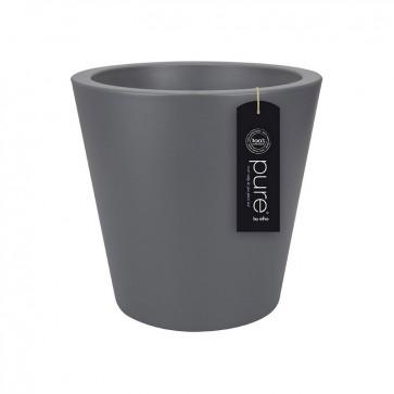Elho Pure Straight Round 50 cm - Antraciet