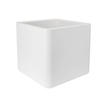 Elho Pure Soft Brick Wheels 50 cm - Wit