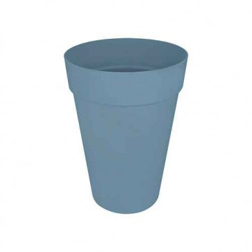 Elho Loft Urban Rond Hoog 28 cm - Vintage blauw