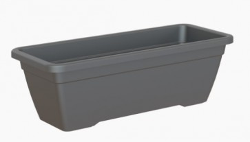 Artevasi Venezia Balkonbak 50 cm - Antraciet