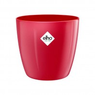 Elho Brussels Diamond Rond 14 cm - Lovely red
