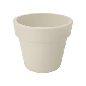 Elho Green Basics Top Planter 40 cm - Katoen Wit