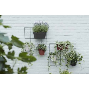 Elho Loft Urban Green Wall Rack - Living Black