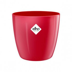 Elho Brussels Diamond Rond 18 cm - Lovely red
