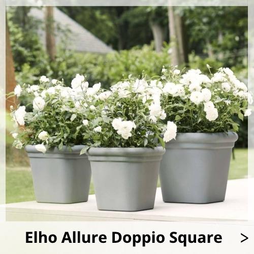 Elho Allure Doppio Square