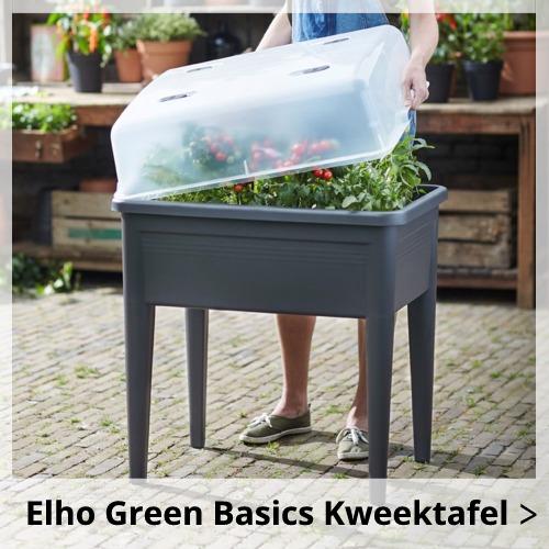 elho green basics kweekkasjes en kweekbenodigdheden wishpel bloempotten. Black Bedroom Furniture Sets. Home Design Ideas