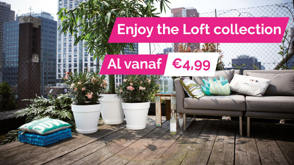 Elho loft urban collectie