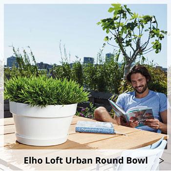 Elho Loft Urban Round Bowl