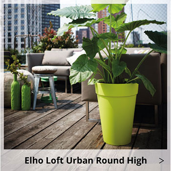 Elho Loft Urban Round High