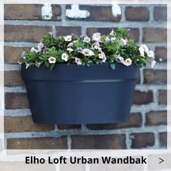 Elho Loft Urban Wandbak