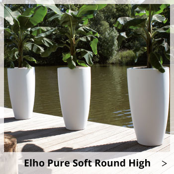 Elho Pure Soft Round High